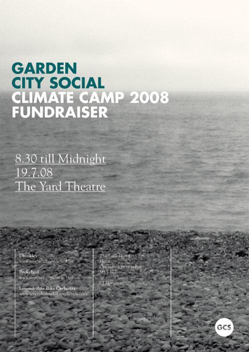 Garden City Social - Climate Camp Fundraiser